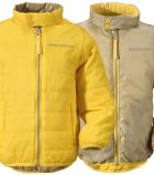 Куртка-дутик двусторонняя детская DIDRIKSONS Kilpa (050 жёлтый)